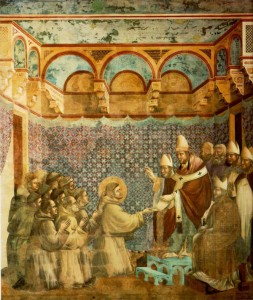Giotto_-_Legend_of_St_Francis_-_-07-_-_Confirmation_of_the_Rule2