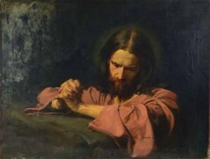 Hermann_Clementz_-_Christus_im_Getsemani-Garten_betend-free
