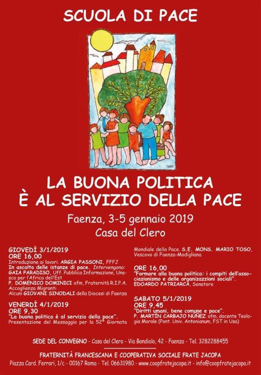 Loc. Scuola di pace 2019