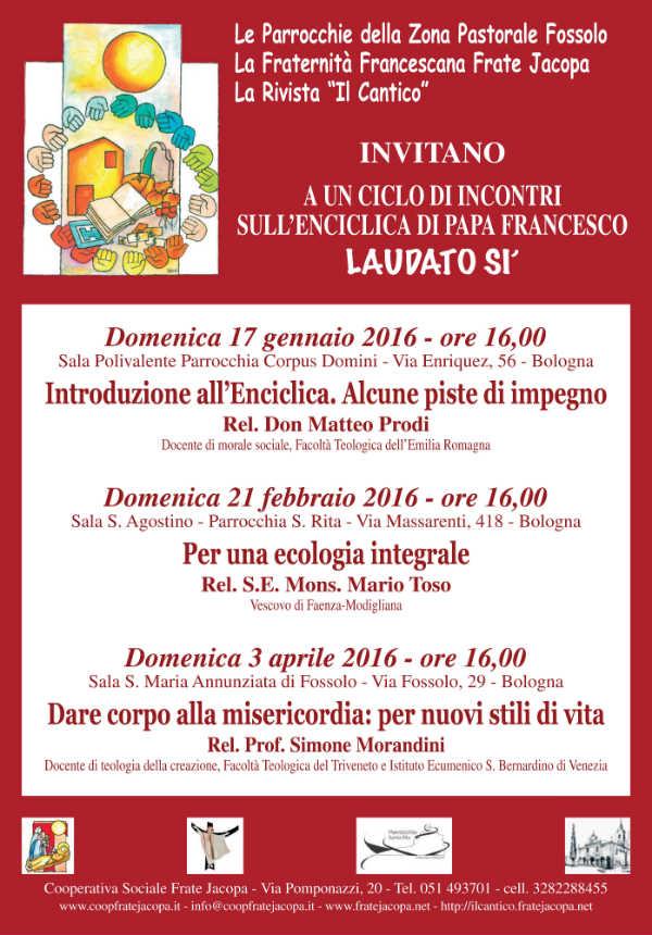 Locandina Bologna 17 gennaio 2016