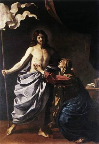 guercino-cristo-risorto-appare-alla-madonna